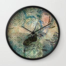 sky high maniacs Wall Clock