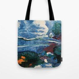 Mini World Environmental Blues 2 Tote Bag