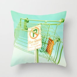 Wednesday Morning... Throw Pillow