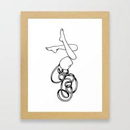 Knotty Grrl I Framed Art Print