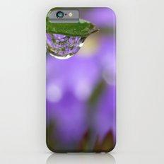 Smiling Drop in Purple Slim Case iPhone 6s