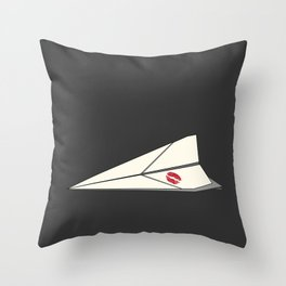 Paper Airplane 8 Throw Pillow