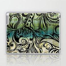 Swirl and Curl Laptop & iPad Skin