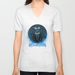 Wolf in a Sheep's Clothing (revision) Unisex V-Neck