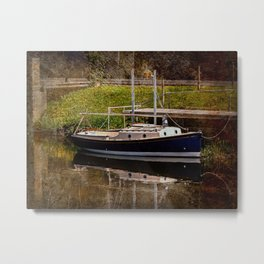 Little River Boat. Metal Print