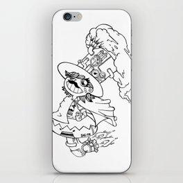 Mr.shiitake (mushroom) iPhone Skin