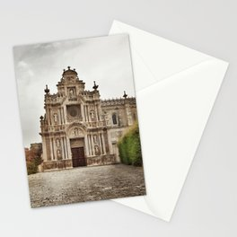 ancient monastry. Spain Stationery Cards