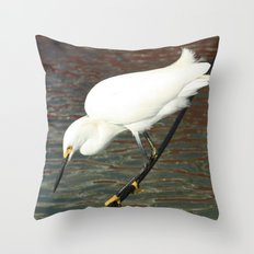Tightrope Throw Pillow