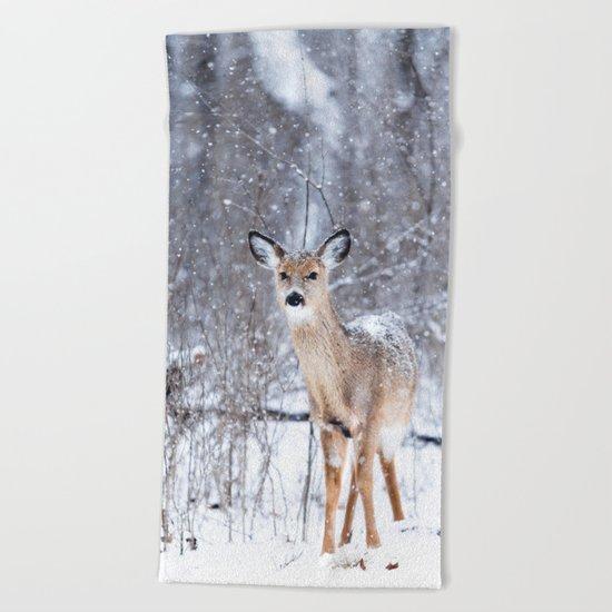 Bambi nature Beach Towel