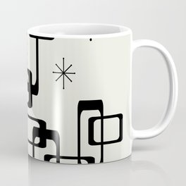 Atomic Era Minimalism Coffee Mug