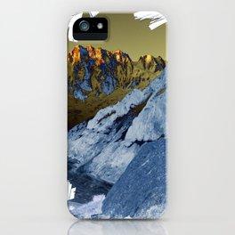 Shining Alps iPhone Case
