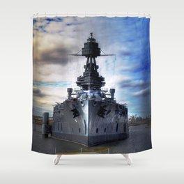 Battleship USS Texas  Shower Curtain