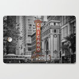 CHICAGO State Street Cutting Board