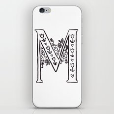 M is for iPhone & iPod Skin