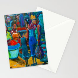 Market Day with My Grandmother Stationery Cards