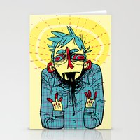 musa Stationery Cards featuring 100% great by musa