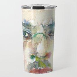 IGOR STRAVINSKY - watercolor portrait.1 Travel Mug