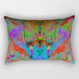 Ocular Fire (psychedelic, visionary) Rectangular Pillow