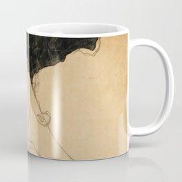 "Egon Schiele ""Standing Girl"" Coffee Mug"