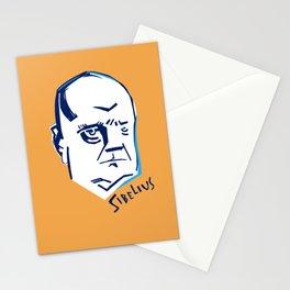 Jean Sibelius (2) Stationery Cards