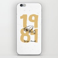 1984 iPhone & iPod Skins featuring 1984 by willjames