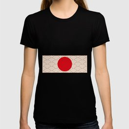 Ornamented Japanese Flag T-shirt