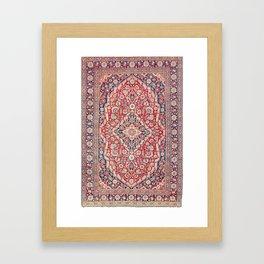 Mohtashem Kashan Central Persian Rug Print Framed Art Print
