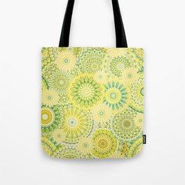 Mandala 184 (Floral) Tote Bag