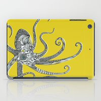 octopus iPad Cases featuring Octopus by Rachel Russell