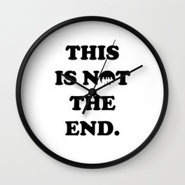 THIS IS NOT THE END. (ONE DIRECTION) Wall Clock