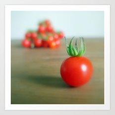Summer Garden Tomatoes Art Print