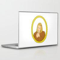 tenenbaum Laptop & iPad Skins featuring Margot Tenenbaum by Whiteland