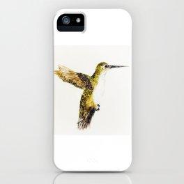 Hover Bird iPhone Case