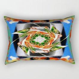 Patchwork Rectangular Pillow
