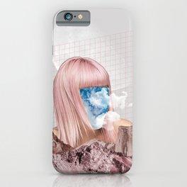 Sky Face iPhone Case