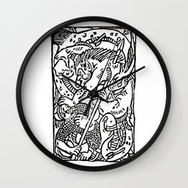The Battle Wall Clock