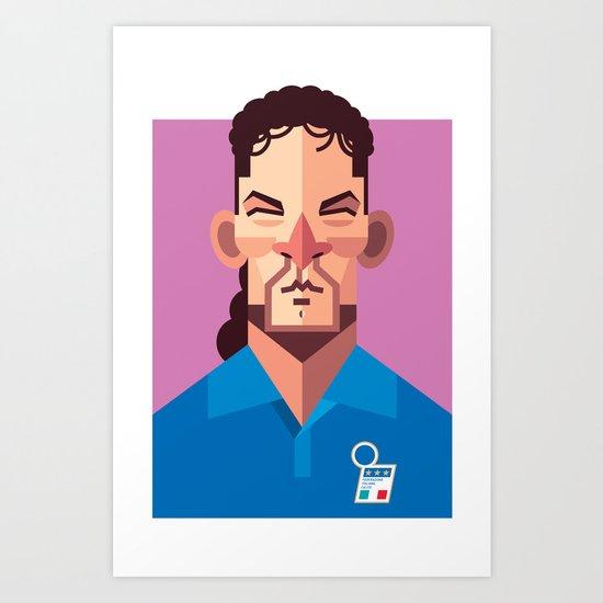 RB10 | Azzurri Art Print