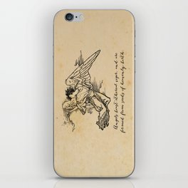 Virgil - Angels iPhone Skin