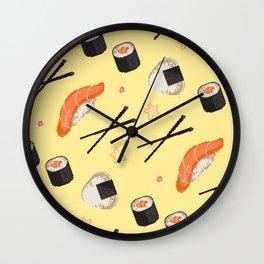 8BIT SUSHI Wall Clock