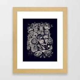 Mictecacihuatl 2 Framed Art Print