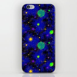 Wrinkle Planet Pattern iPhone Skin