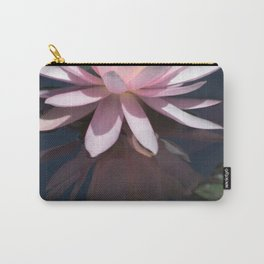 Aquatic pastel flower Carry-All Pouch