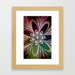 Plum Flowers Framed Art Print