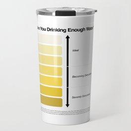 Pee Color Chart / Urine Color Chart Travel Mug