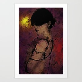 The Attrition of Nothing Art Print