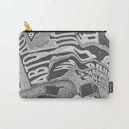 Constructivism Scan Carry-All Pouch