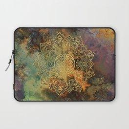 Flower Of Life Batik Laptop Sleeve