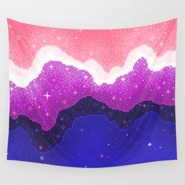 Genderfluid Pride Galaxy Wall Tapestry