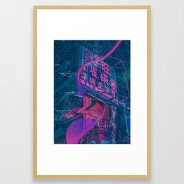 Melting Japan Framed Art Print