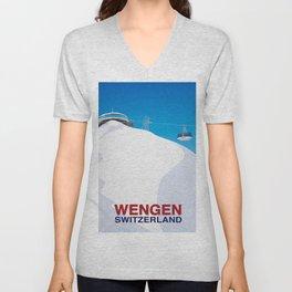 Wengen Unisex V-Neck